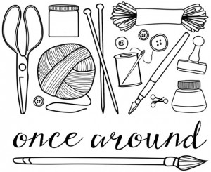 Once Around logo