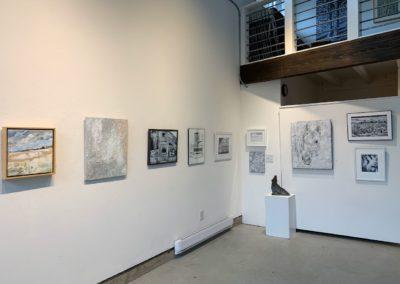 Gallery - Winter White exhibit