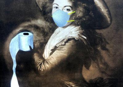 "Jay Oneil, ""Victorian Wipe"" – $400"