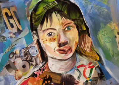 "Barbara Pollak-Lewis, ""Self-Portrait in Quarantine"" – NFS"