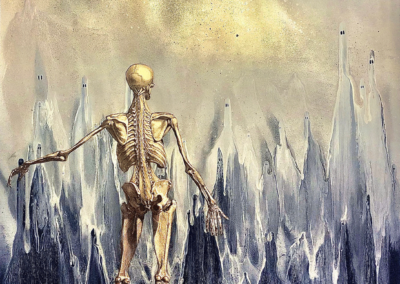 "Jay Oneil, ""Ancestors"" – $2200"