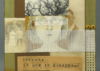 """Marsha Balian, """"Lessons on How to Disappear"""" – $285"""