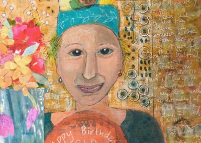 "Patricia Marina, ""Happy Birthday SIP"" – SOLD"