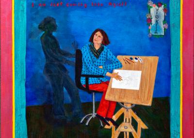 "Vickisa A. Feinberg, ""Myself"" – $1200"