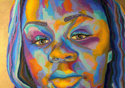 "HelenLesnick,""Breonna"",pastel,   23x18,NFS"
