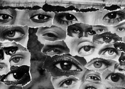"JackieLaLanne,""Shared           Surveillance"",collage,10x8,$50"