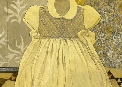 "Wendy Ginsberg, ""Florence Dress"", photo based digital art on archival paper and pigment Inks, 62 x 44, $1,600"