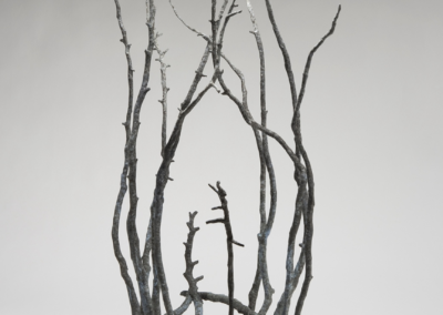 "Maru Hoeber, ""Journey"", bronze, 29 x 31 x 12, $5,000"
