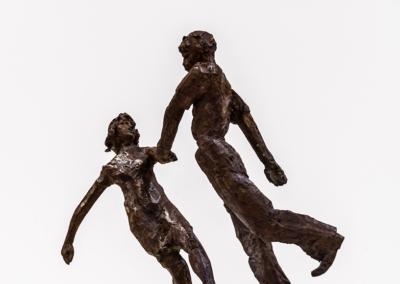"Julia Knight, ""Piano Dancing Bronze"", 15 x 11 x 7, $8,500"