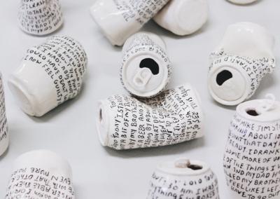 "Heather Schroeder, ""Rehab pt.II"", porcelain, 4 x 2 x 3, NFS"