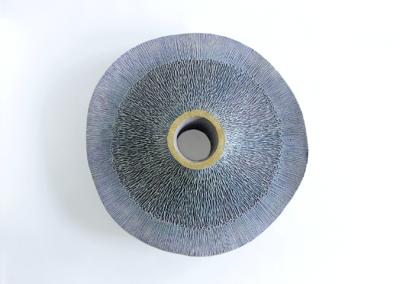 "Emil Yanos ""Aurora""  Ceramic Stoneware, 15x-4 $400"