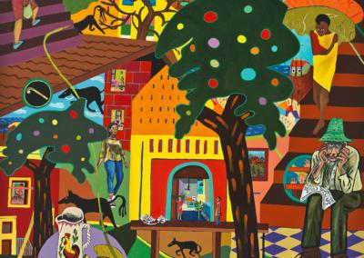 "Myra Eastman ""Santa Cruz #2"" Acrylic on Canvas, 60x48 $4000"