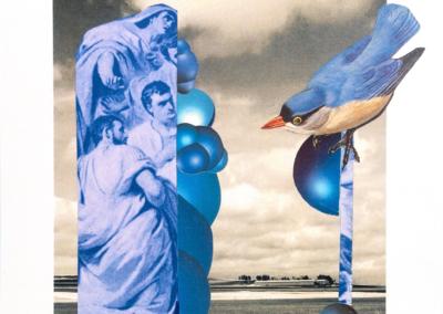 """Tree Bernstein """"Goddess of the Dawn"""" Photo & Collage, 8x8 $300"""