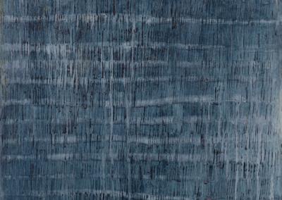 """Carol Dalton """"Midnight Rain"""" Mixed Media, 16x16 $1600"""