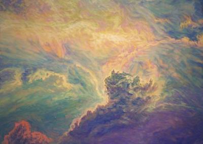 "David Gallegos ""Empyrean # 13"" Oil on Canvas, 71x40 $9990"