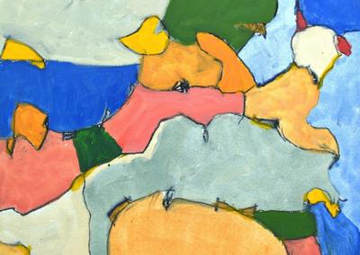 "Keith Wilson ""Horizon"" Oil on prepared paper, 16x12 $925"